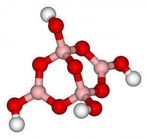 молекула-тетраборат-натрия