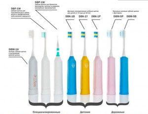 звуковые зубные щетки