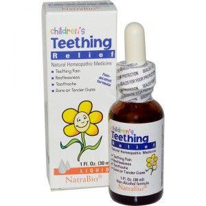 капли при прорезывании зубов