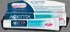 зубная паста асепта