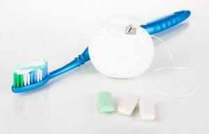 инструменты для чистки зубов
