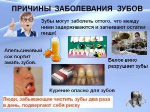причины заболевания зубов