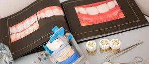 книга и инструменты стоматолога