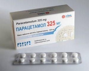упаковка парацетомола