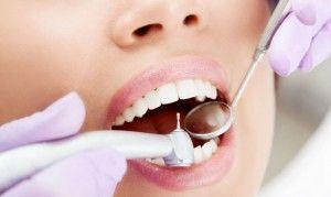 бормашина и стоматологическое зеркальце