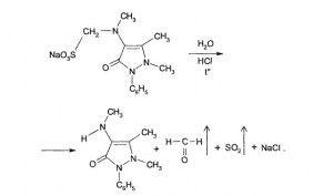 химическая формула анальгина