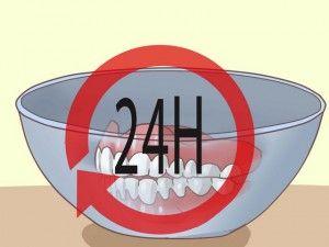 ванночка с зубным протезом