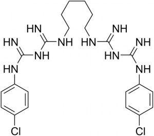 химинческая формула хлогексидина